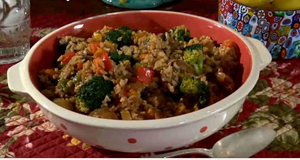 Leftover Brown Rice Stir-Fry