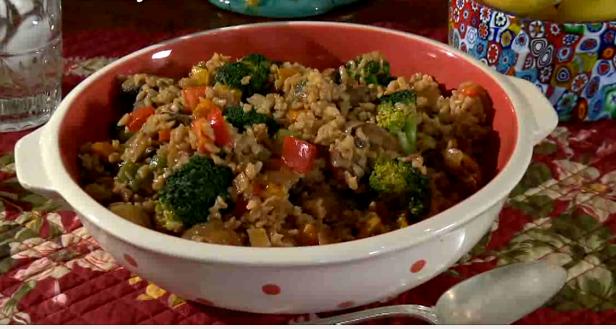 Leftover Brown Rice Stir-Fry