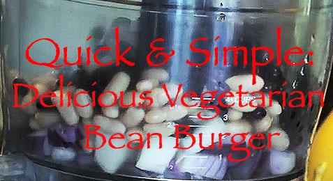 Quick & Simple: Delicious Vegetarian Bean Burger Recipe