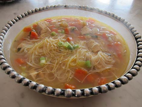 Carol Way's Asian-style Chicken Soup