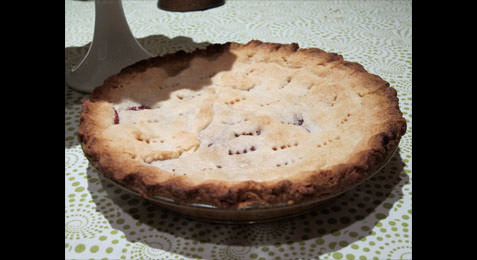 Paul Finnerty's Cranberry Pie