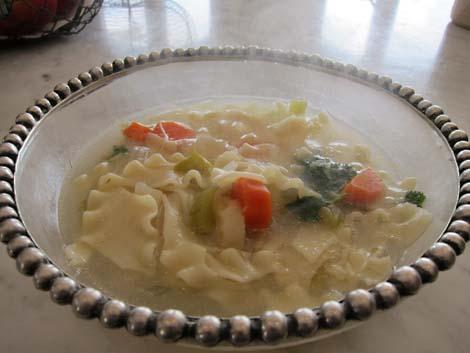 Judith Lerner's Chicken Soup