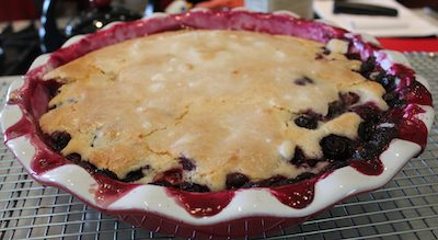 Blueberry Batter Cake