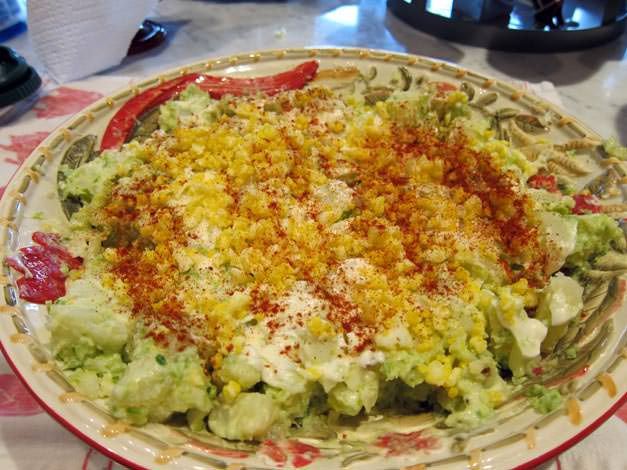 Garlic Scape Potato Salad