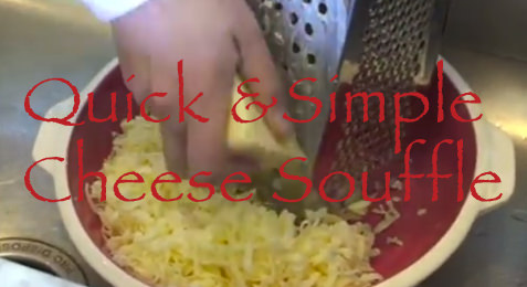 Quick & Simple: Cheese Souffle
