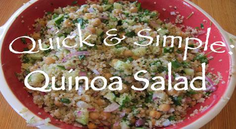 Quick & Simple: Quinoa Salad