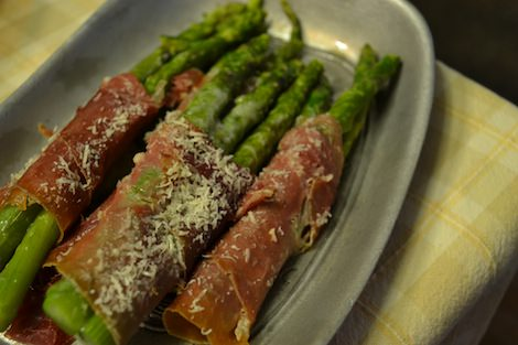 Florence Mims' Asparagus Rolls