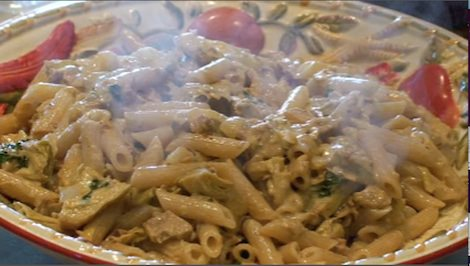 Pasta with Tuna and Artichokes