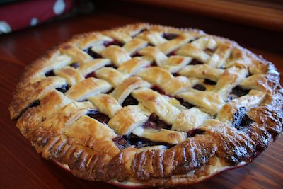 Scott Keough's Blueberry Custard Pie