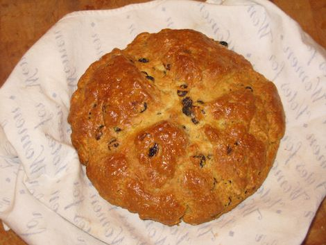 Kathy Mangan's Spotted Dog (Irish Soda Bread)